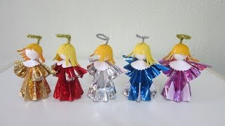 TUTORIAL - How to make 3D Paper Doll (Angels)