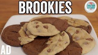 BROOKIES (BROWNIE COOKIES!) RECIPE   EMOTION COOKBOOK #6 COMFORT #ad