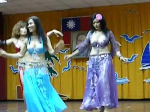 Middle Eastern belly dance 中東のベリーダンスTimur Tengah tari perut 中東肚皮舞 1