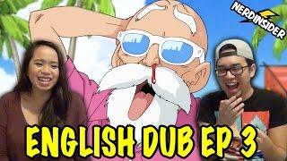 DRAGON BALL SUPER English Dub Episode 3 REACTION & REVIEW