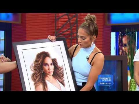 Jennifer Lopez en Despierta America 2015 (Part 3)