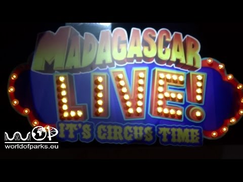 Madagascar LIVE! It's circus time - Heide Park Resort - Show HD komplett