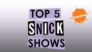 Top 5 SNICK Shows (Saturday Night Nickelodeon)