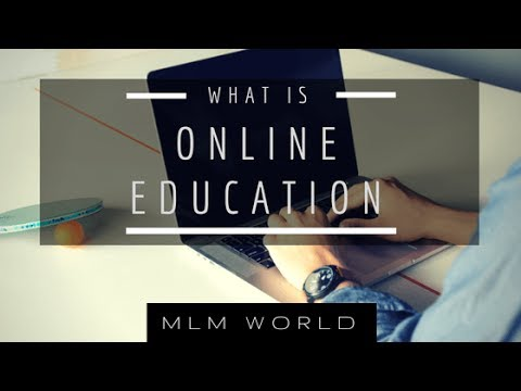 What is Online Education - Let's have a look
