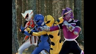 Power Rangers Jungle Fury - Tigers Fall, Lions Rise - Ranger Training (Episode 27)