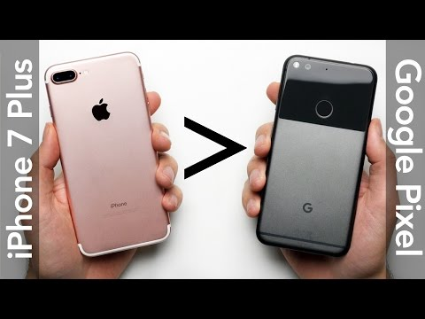 25 Reasons Why iPhone 7 Plus Is Better Than Google Pixel XL