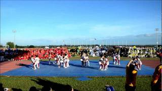 Tarlac State University Firefox Cheerleading Team - SCUAA III Performance