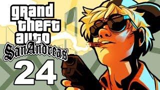 Grand Theft Auto San Andreas Gameplay / SSoHThrough Part 24 - Raining Choppers