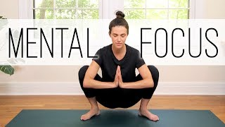 Yoga For Concentration and Mental Focus | Yoga With Adriene
