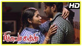 Pichuva Kaththi Latest Movie Scenes | Senguttuvan and Anisha decide to marry | Bala Saravanan