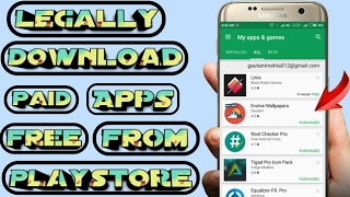 LEGALLY! Download Paid Apps & Games Free From Playstore l No Root l Hindi l JANE SY