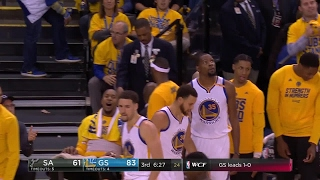 Quarter 3 One Box Video :Warriors Vs. Spurs, 5/16/2017 12:00:00 AM