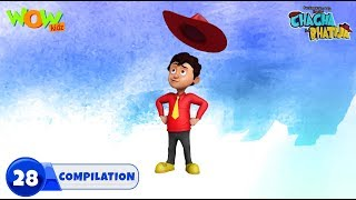 Chacha Bhatija Non stop 3 episodes | 3D Animation for kids | #28