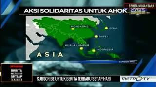Aksi Solidaritas #Pray4Ahok di Benua Asia, Australia, Eropa dan Amerika