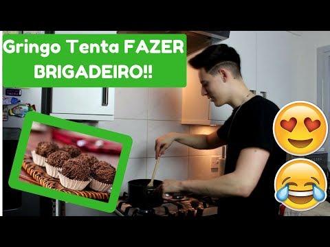 TENTANDO FAZER BRIGADEIRO!! - MELHOR DO QUE OS BRASILEIROS?!