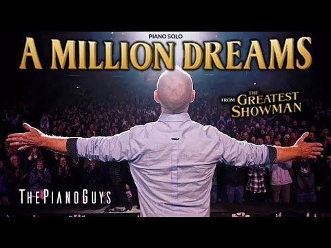 A Million Dreams Piano Solo With A Surprise Ending The Greatest Showman