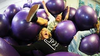 House Full of Yoga Balls!