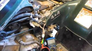 Yamaha kodiak 400 trigger pickup coil test ohms - peak voltage