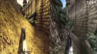 Сравнение Oblivion с ENB и без