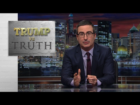 Trump vs. Truth Last Week Tonight with John Oliver HBO