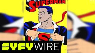 80 Years: 80 Superman Shirt Rips (Supercut)   SYFY WIRE