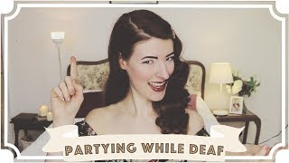 Partying While Deaf // Slang British Sign Language Tutorial (BSL) [CC]
