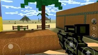 Cùng chơi Pixel gun 3D tập 2 phần 1: chuyển đảo !