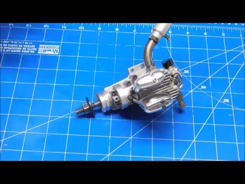 Saito FA-56 A Look Inside part 1