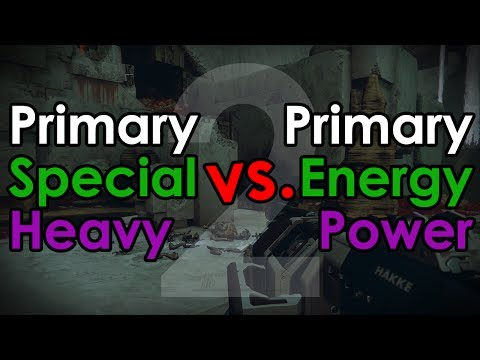Destiny 2: Is The New Primary/Energy/Power Weapon System Bad For PvE?