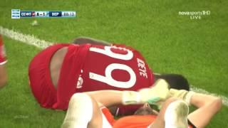 Brown Ideye  Red hot: goal scoring machine- Dab celebration