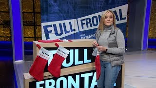 Stockings Hung By The Perch With Care | Full Frontal on TBS