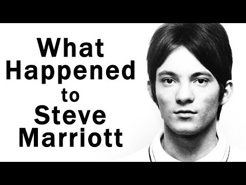 """What happened to """"The Small Faces"""" STEVE MARRIOTT?"""