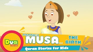 Musa (AS) Prophet Stories In English Ep 18 | Islamic Kids Videos | Kids Islamic Stories #Cartoon
