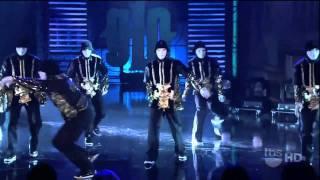 11 17 10 JabbaWockeeZ From America's Best Dance Crew Perfrom Live! on Lopez Tonight