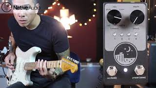 NativeAudio Ghost Ridge Reverb pedal - demo by RJ Ronquillo