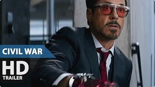 Captain America 3 Civil War NEW Movie Clip - Iron Man vs. Winter Soldier (2016) Marvel Movie HD