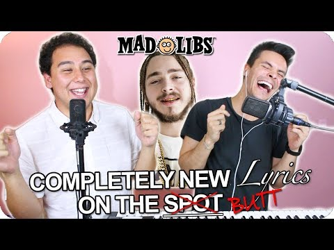 Xxx Mp4 Post Malone Quot Better Now Quot MadLibs Cover LIVE ONE TAKE 3gp Sex