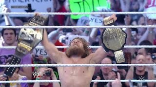 Daniel Bryan wins the WWE World Heavyweight Championship: WrestleMania 30