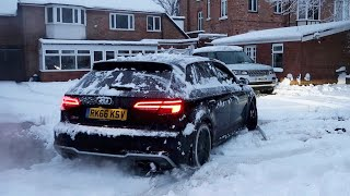 My AUDI S3 vs SNOW! *Got Stuck*