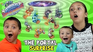 Epic Portal Surprise of Skylanders SuperChargers Wave 1 & 2 Toys & Starter Packs