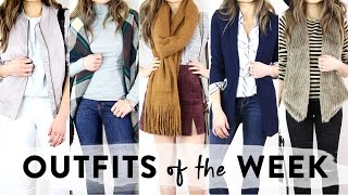November Outfits of the Week | OOTW | Miss Louie