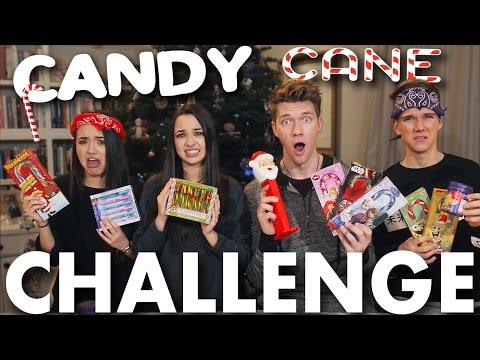 CANDY CANE CHALLENGE BEAN BOOZLED CHALLENGE Merrell Twins vs. Key Bros Collins Key
