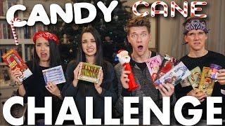 CANDY CANE CHALLENGE + BEAN BOOZLED CHALLENGE! Merrell Twins vs. Key Bros | Collins Key