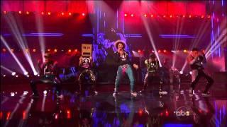 LMFAO Performance w/ Justin Bieber (2011 AMA's) HD 720p