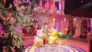 Meher & anushka sen ke dance nagada sang doll baje