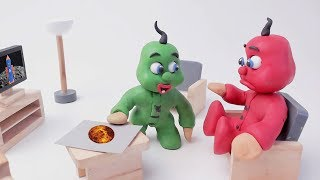 Our Best of Superhero Babies Stop Motions - Clay & Play Doh Animated Video For Kids