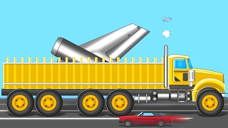 Giant Loading Truck | Formation And Uses | Videos For Kids| Heavy Vehicles for Childrens