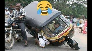 """حوادث سيارات مضحكة  """"لن تصدق كيف تصرف السائقون """"هههههههه"""
