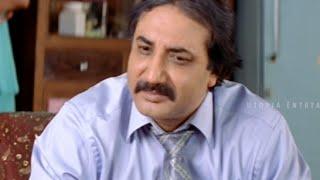 Aziz Naser's Father Meets Haneef Bhai  - Hyderabad Nawabs Movie Scenes