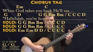 Supermarket Flowers (Ed Sheeran) Fingerstyle Guitar Cover Lesson in G with Chords/Lyrics